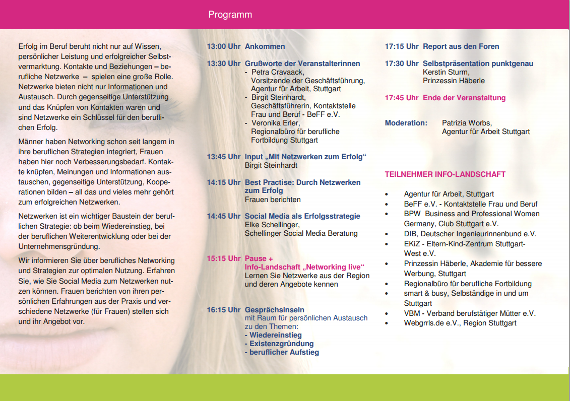 Frauenwirtschaftstag Programm 131002