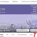 Facebook-Interessenlisten - Inhalte zeitsparend sammeln