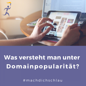 Was bedeutet Domainpopularität?