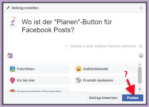 Facebook Chronik Beiträge Verschwunden