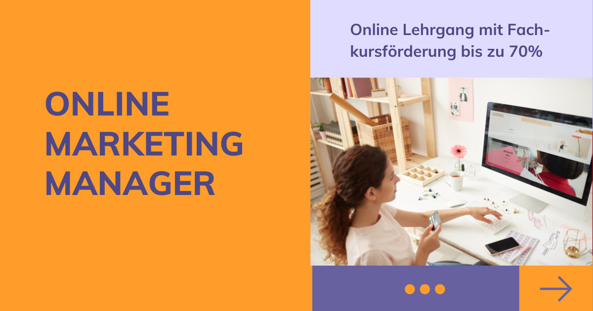 Online Marketing Manager Lehrgang