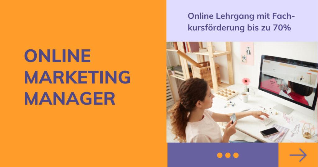 Online Marketing Manager Lehrgang